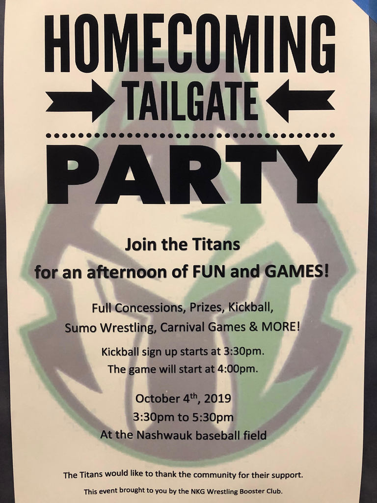 HOCO Tailgate party